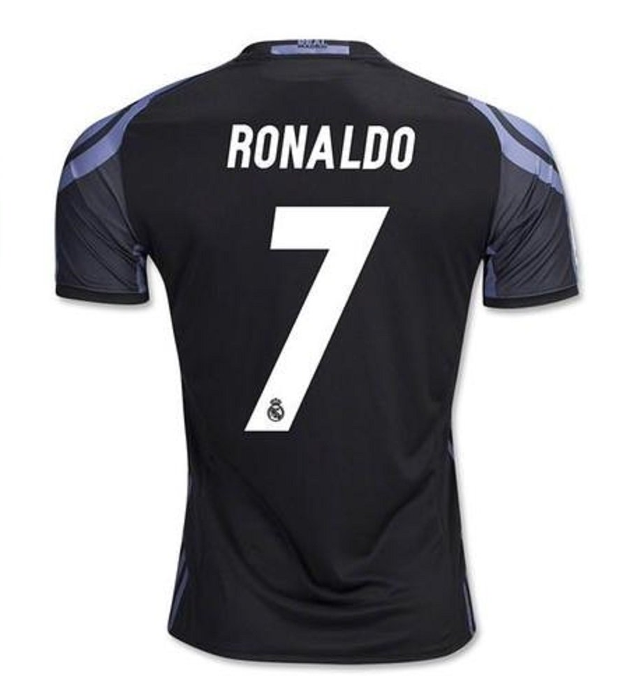 Real Madrid #7 Ronaldo Away jersey & shorts kid youth for age 6-8