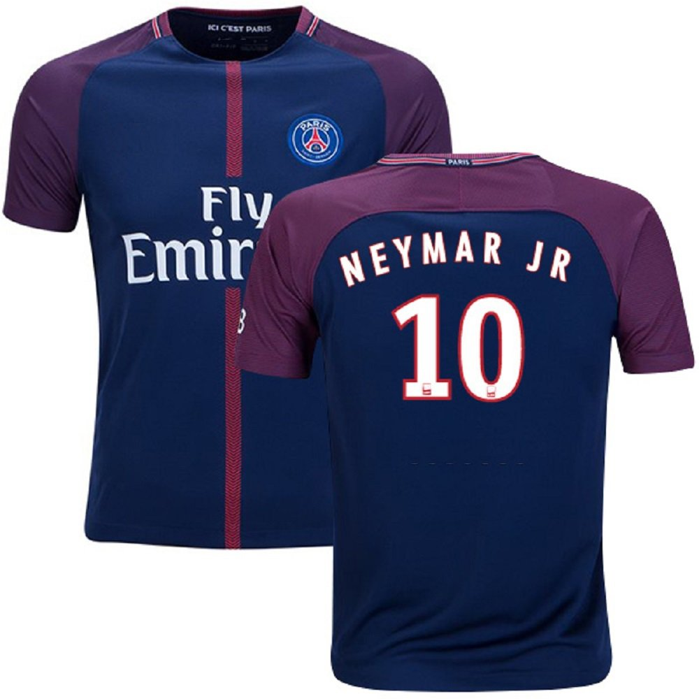 PSG #10 Neymar Jr Home jersey with shorts kid youth for age 6-8