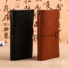 Travel Notebook Faux Leather Cover Refillable Inner Pages 1 PC