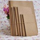 B5 Large Kraft Bulk Plain Sketchbook Journal Diary Notebook with Blank Paper 1PC
