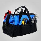 "15"" Multi-Use Electrician's Tool Tote Bag Strong 600 Denier Fabric Waterproof"