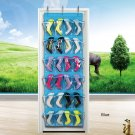 24 Pockets Over the Door Shoes Organizer Home Organization Storage Rack Holder