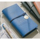 Refillable Faux Leather Cover Travel Journal Personal Diary Notebook with string