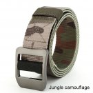 Outdoor Tactical military Hiking Cancas Adjustable Belt for Men and Women