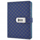 Password Locking Dairy Notebook Leather Hardcover, A5 224 Pages, Gift for boy