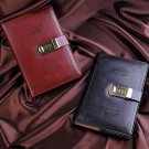 Retro Faux Leather Combination Lock Journal Lined Diary Notebook 5.9 x 8.5 inch