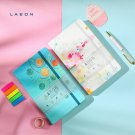"""Writing Life"" Colorful Cover Journals Notebook Lattice Page Personal Planner"