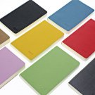 1pc Notebook Paper PU Leather Cover Mini Journal Diaries Study Planner Agenda