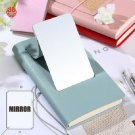 A6 Girl's Leather Cover Personal Travel Journals Lined Paper Diary With Mirror
