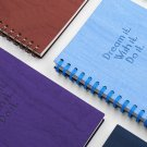 Dream Wish 1pcs Spiral Notebook Paper Journals Diaries Hard Cover Lined Planner