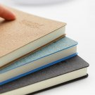 Faux Leather 1pc Planner Agenda Scheduler Paper Hard Cover Diary Study Notebook