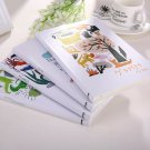 Graffiti Fashion Cardboard Hard Cover Paper Notebook Drawing Diary Sketchbook