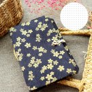 Handmade A5 Black Sakura Travel Journal Dot Grid Paper Notebook Bullet Journal
