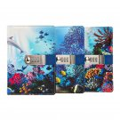 Diary Journal with Lock for Boys and Girls Undersea Leather Cover Paper Notebook