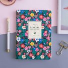 A5 Monthly Weekly Planner for Women Floral Leather Soft Cover Personal Journal