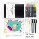 Bullet Journal for Beginners with Bullet Journal Kit - Sticker, Neon Color Pen