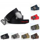 32mm Wide Mens Tactical Military Waist Belt with Quick Release Buckle for Jeans