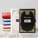 200 Pages Writing Lined Journal with Digital Lock for Boys and Girls Hard Cover