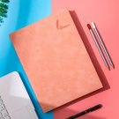 A4 Ruled Notebook,10mm ruled 25-line, 200 sheets, Pink