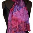 Rose Line Silk Neckerchief