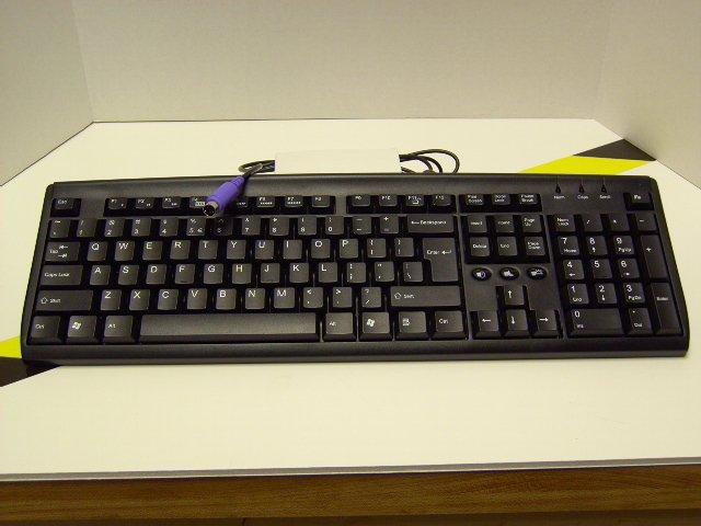 AOpen KB & Optical Mouse PS2 Black - [KM-826]