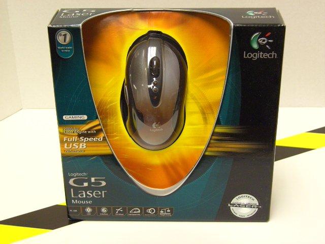 G5 Laser - USB Mouse
