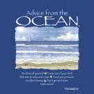 Ocean T-shirt Unisex Advice Blue Gildan Various Sizes 100% Cotton S M L XL 2XL