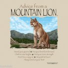 Mountain Lion Tshirt Unisex S-M-L-XL-2XL NEW NWT Stand Your Ground Advice Nature
