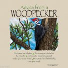 Pileated Woodpecker Advice Sweatshirt Unisex Sizes S M L XL New NWT