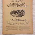 American Needlework Craft Patterns Patchwork Story April 1961 Womans Day