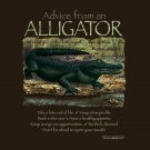 Alligator T-shirt Unisex S-M-L-XL-2XL NWT Gator Reptile Advice Earth Sun Moon