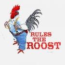 Sweatshirt Rooster Farm Humor Earth Sun Moon Medium Unisex Fun NWT
