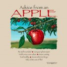 Apple Advice T-shirt Various Earth Sun Moon Cotton NWT Farm Fruit New Vegan