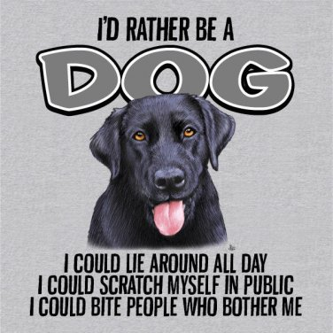 Dog Lover T-shirt Cotton Gray NWT Animal Pet S-M-L-XL-2XL Screen Print Front