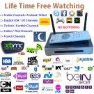 English, Arabic Live Tv, Iptv, 1000+ Channels Free Lifetime, Airplay