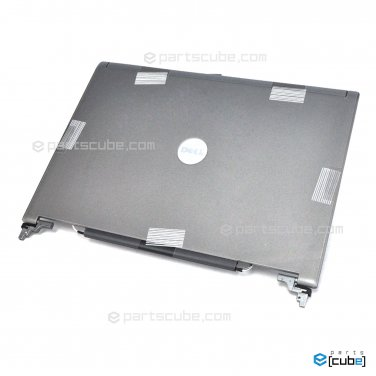 NEW JD104 Dell Latitude D620 D630 D631 LCD Back Cover Lid w Hinges YT450