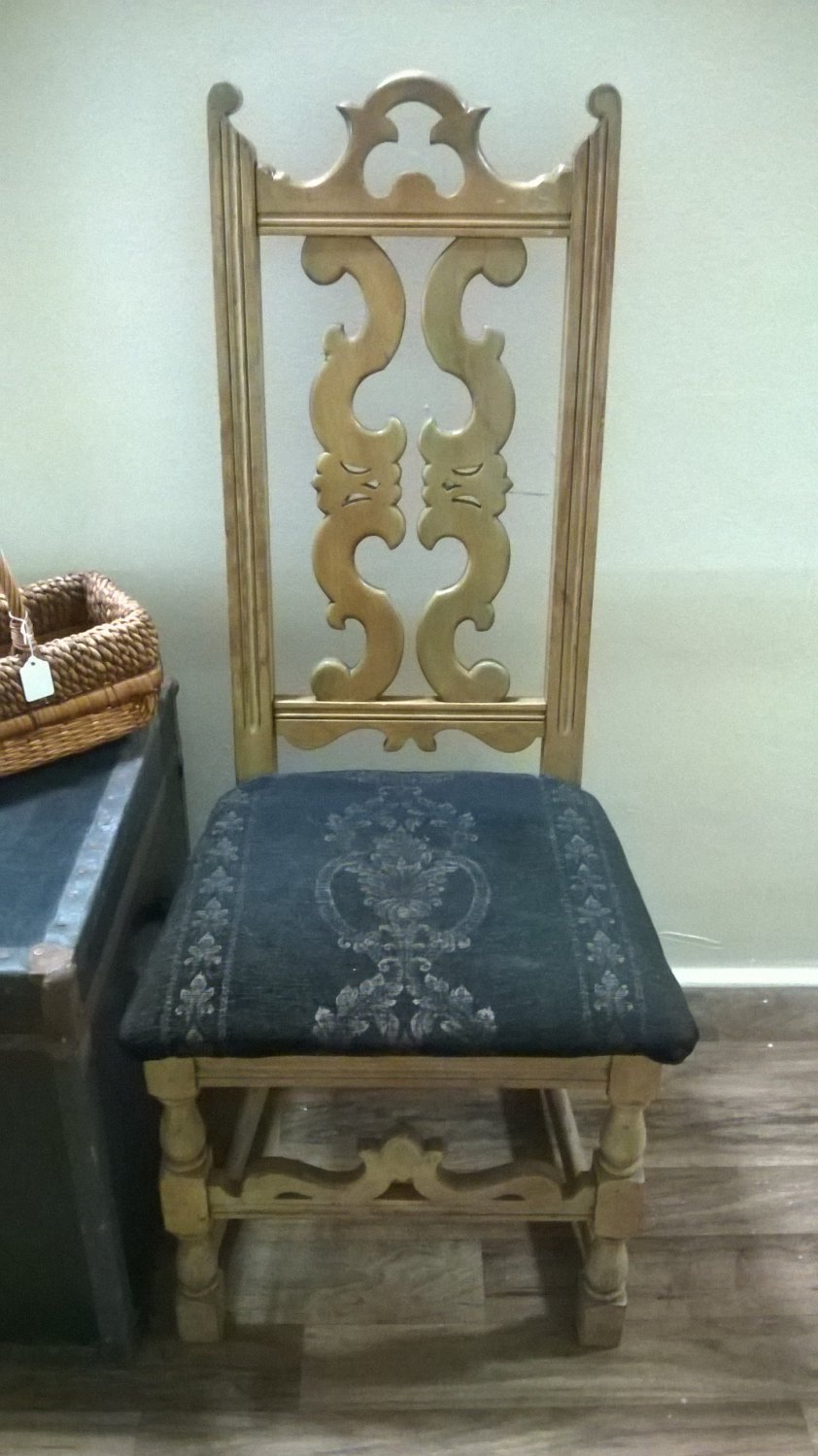 "Victorian Side Chair ""Arts & Crafts Movt"""