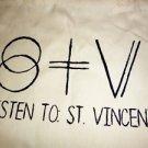 St Vincent / Annie Clark Tote Bag / Purse Carrier Indie Punk Rock T-shirt Vinyl