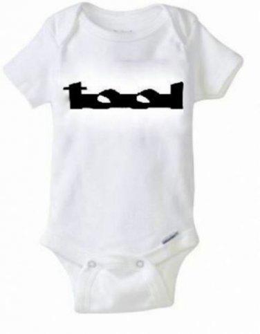 TOOL Band Baby Onesie / Snapsuit Music 90's Maynard James Keenan T-shirt 0-24
