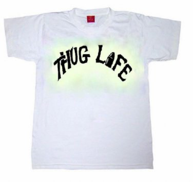 2pac Thug Life Toddler Kids T-shirt Tupac Shakur HipHop Rap 90s Snoop Dogg Dr Dre