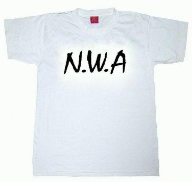 N.W.A Toddler Kids T-shirt Hip Hop Rap Ice Cube Dr Dre LA Cali 2-3T 4T Small 90s