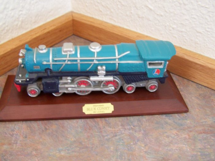 TRAIN 1931 No. 400 E Blue Comet with Plaque *Lionel*