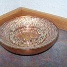 Vintage Copper n' Glass Ashtray