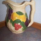 Glass FRUIT Pitcher - AVON