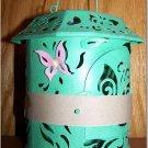 Pierced Tin Butterfly Lantern * AVON - Brand New