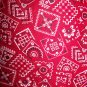Tote Bag - Red Bandana Print