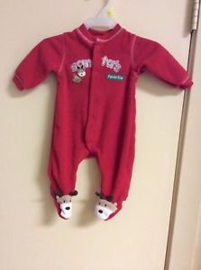 Charter's Child Of Mine Newborn Santa's Helper Sleeper Pre- Owned