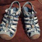 Croft & Barrow Sandals Blue Shoes Washable Footwear Ladies Girls US/4 NWOT