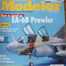 FineScale Modeler April 2005 EA-6B Tamiya F-16CJ AS-90 howitzer SH-34J