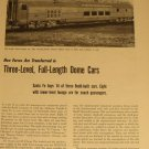 1950s Santa Fe Budd Dome Car Article